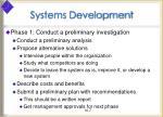 systems development7