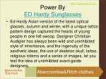 power by ed hardy sunglasses