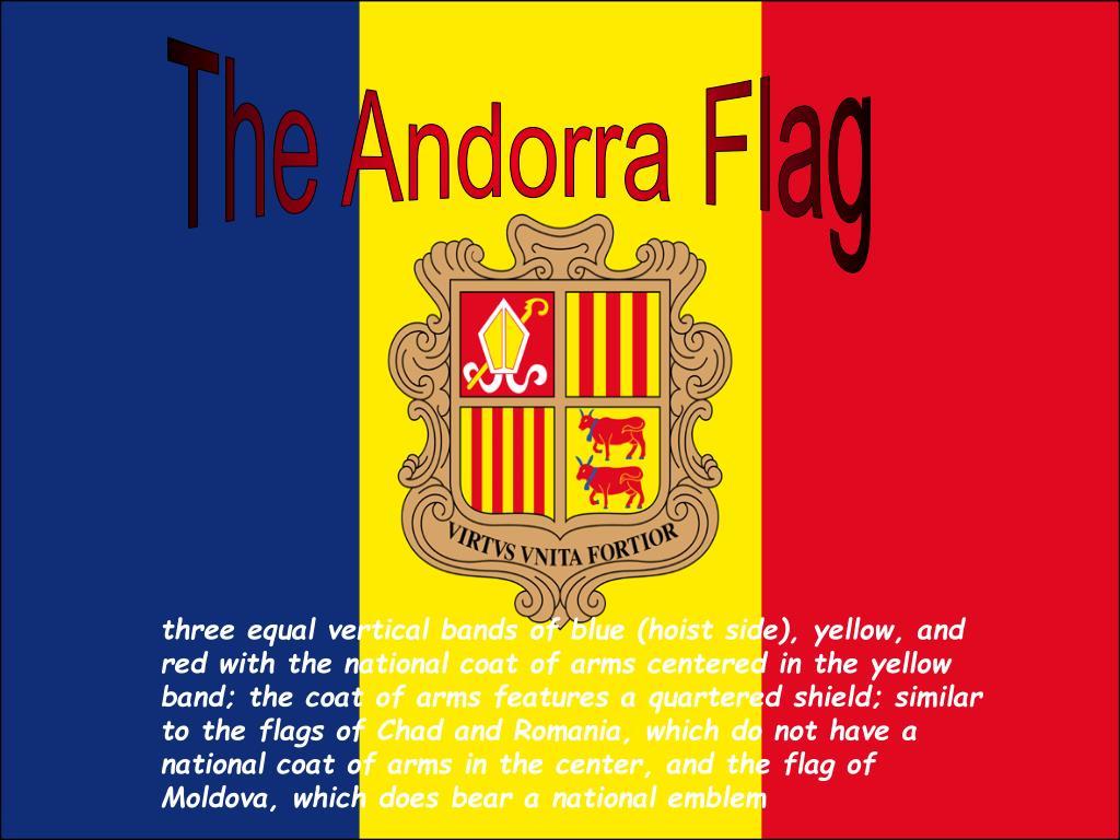 The Andorra Flag