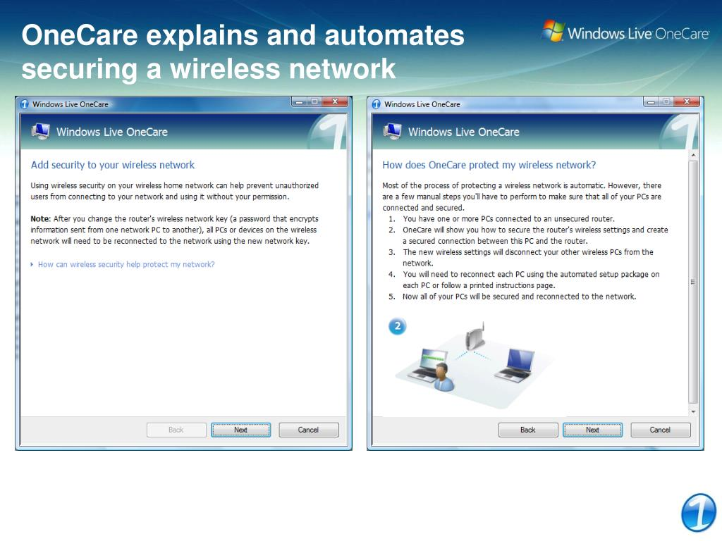 OneCare explains and automates