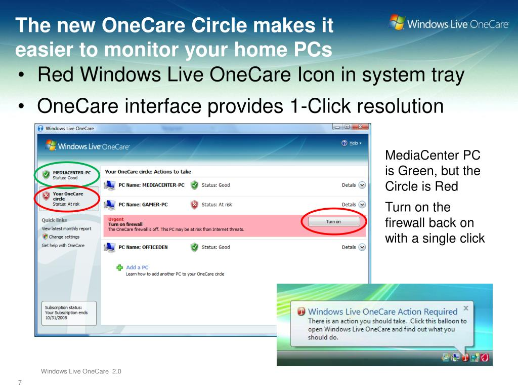 The new OneCare Circle makes it