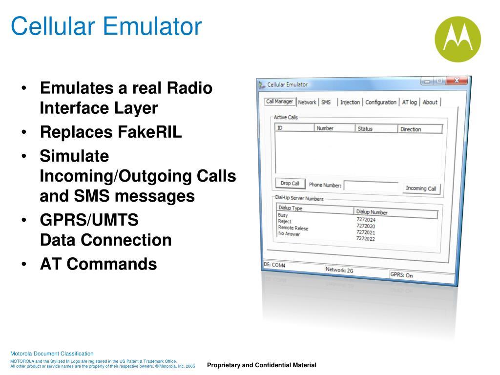 Cellular Emulator