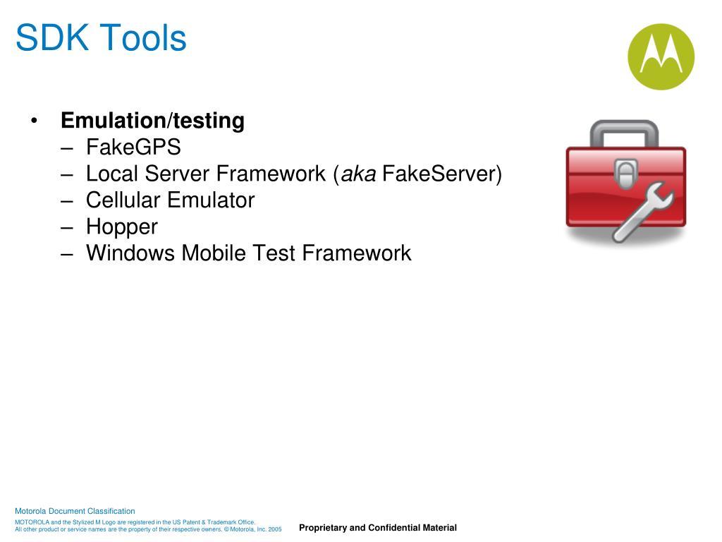 SDK Tools