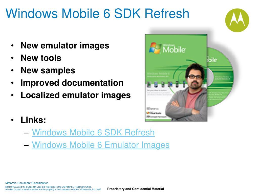 Windows Mobile 6 SDK Refresh