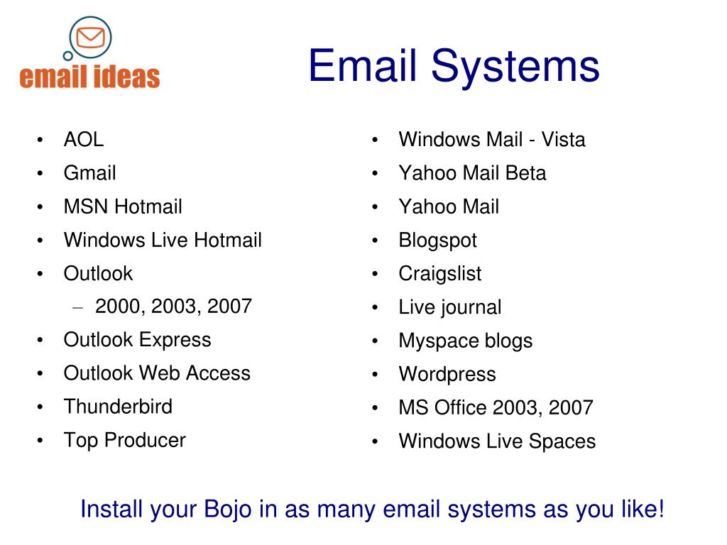 Windows Mail - Vista