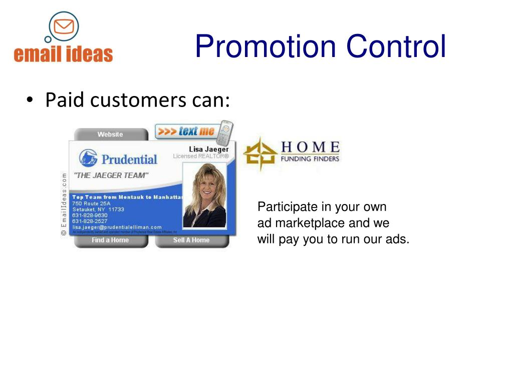 Promotion Control