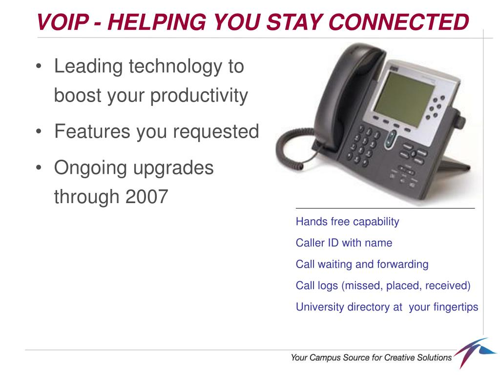 VOIP - HELPING YOU STAY CONNECTED