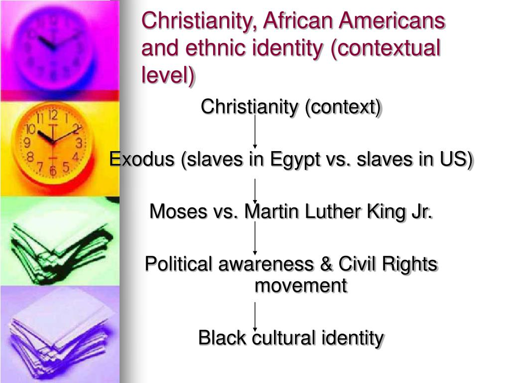 Christianity, African Americans and ethnic identity (contextual level)