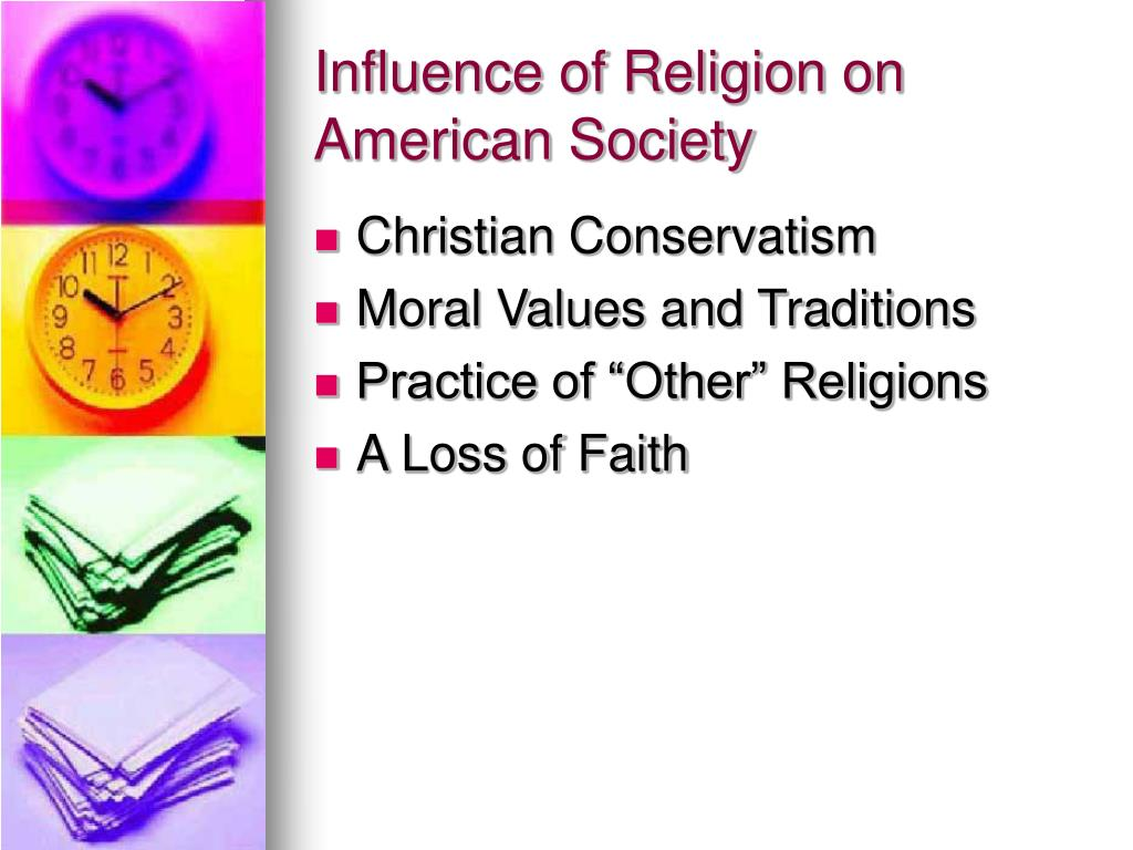 Influence of Religion on American Society
