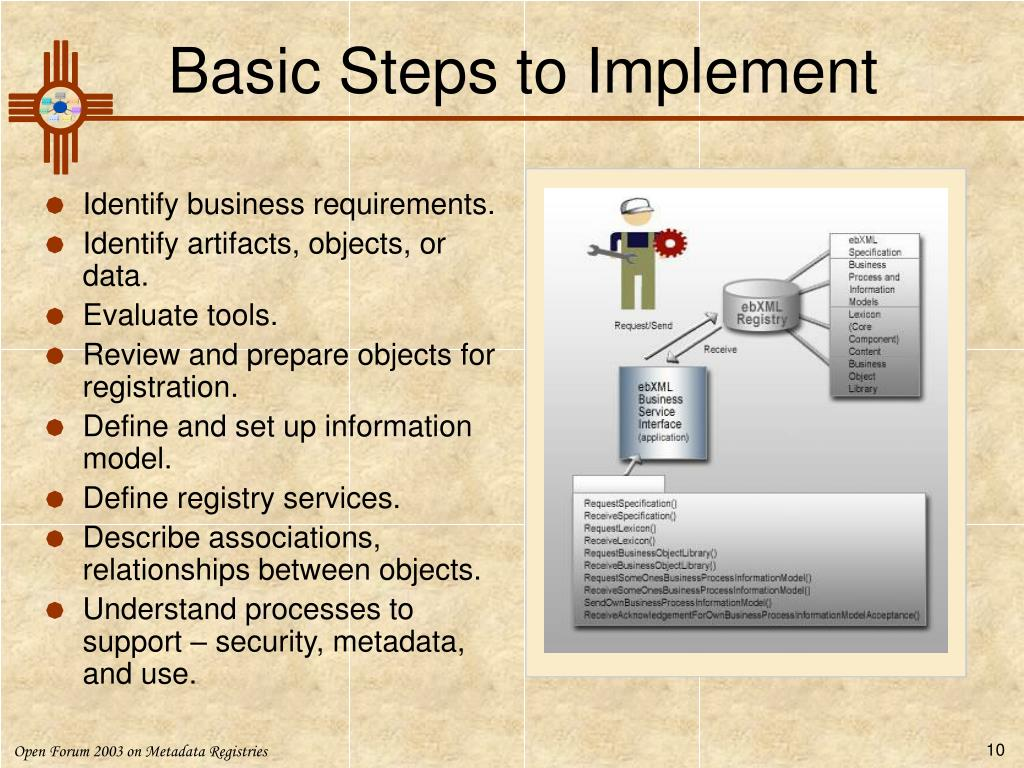 Basic Steps to Implement