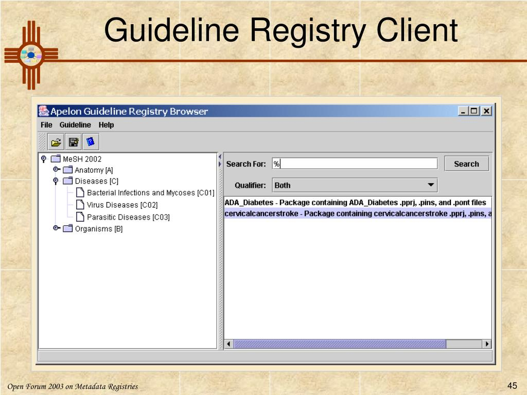 Guideline Registry Client