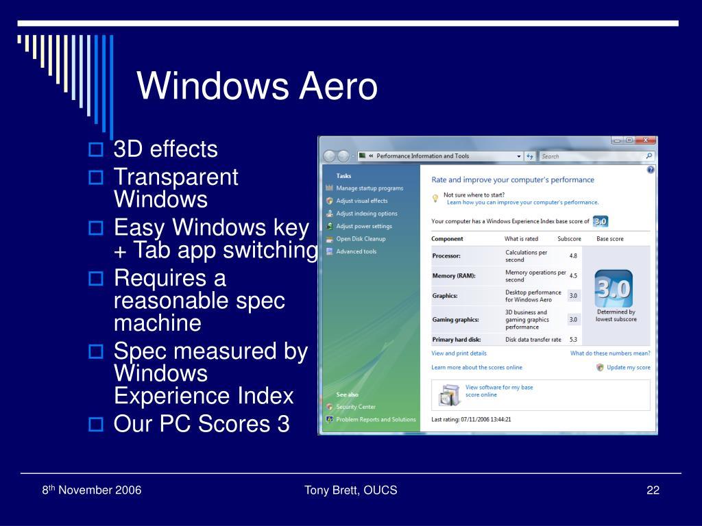 Windows Aero