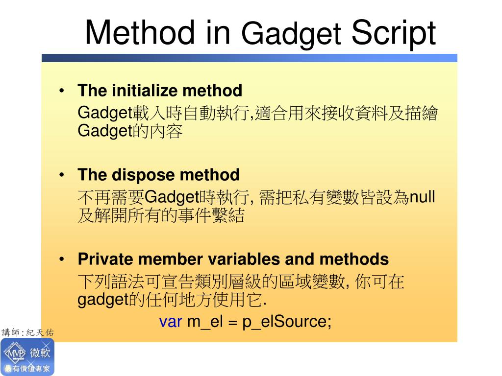 Method in
