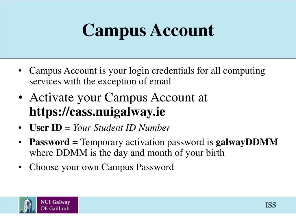 Campus Account