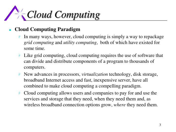 Cloud computing3