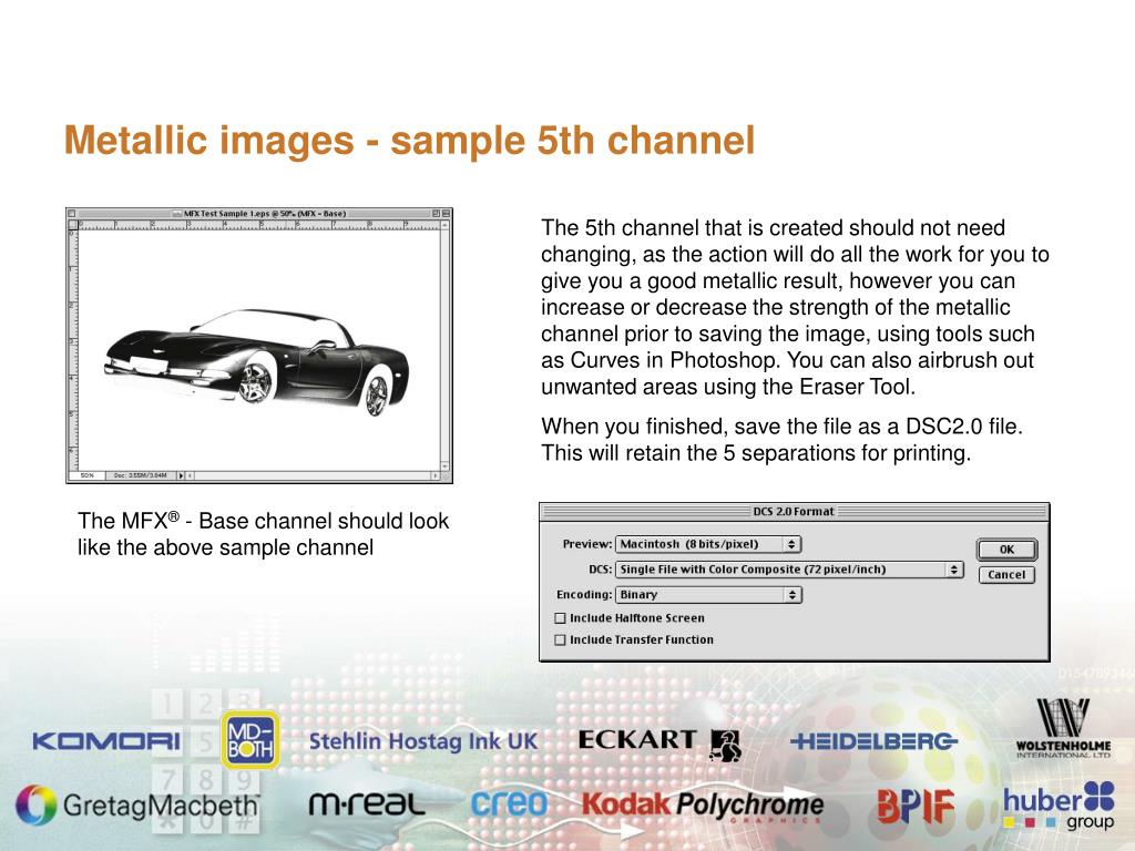 Metallic images - sample 5th channel