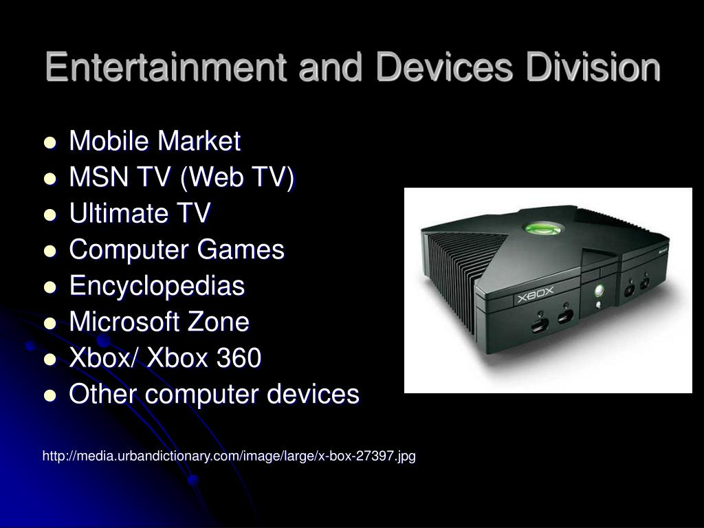 Entertainment and Devices Division