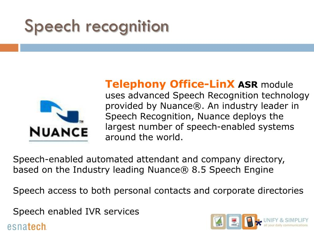 Automatic Speech Recognition (ASR)