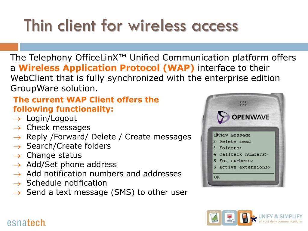 WAP Gateway: