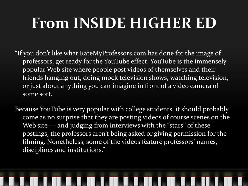 From INSIDE HIGHER ED