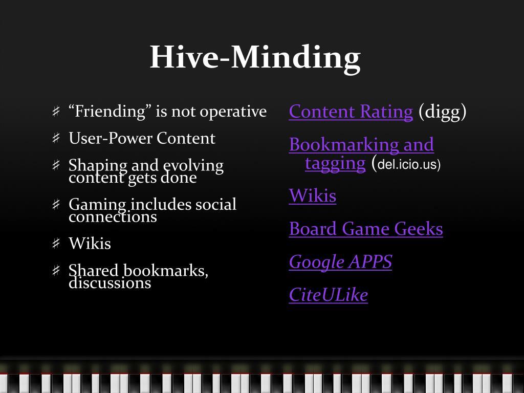 Hive-Minding