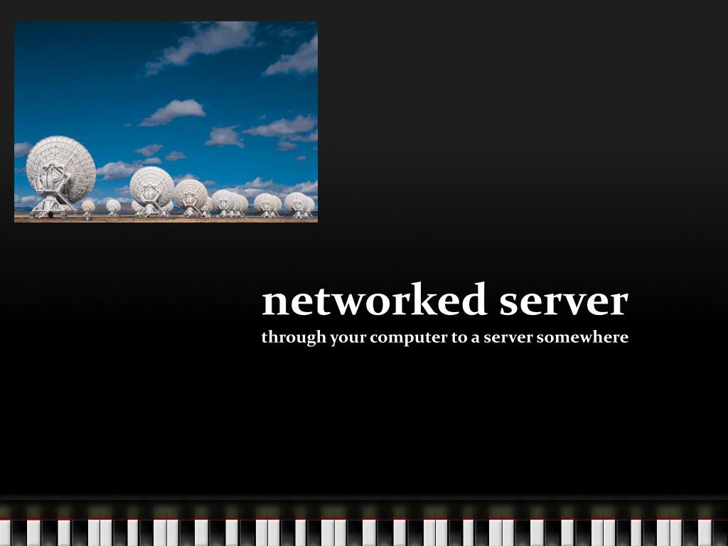 networked server