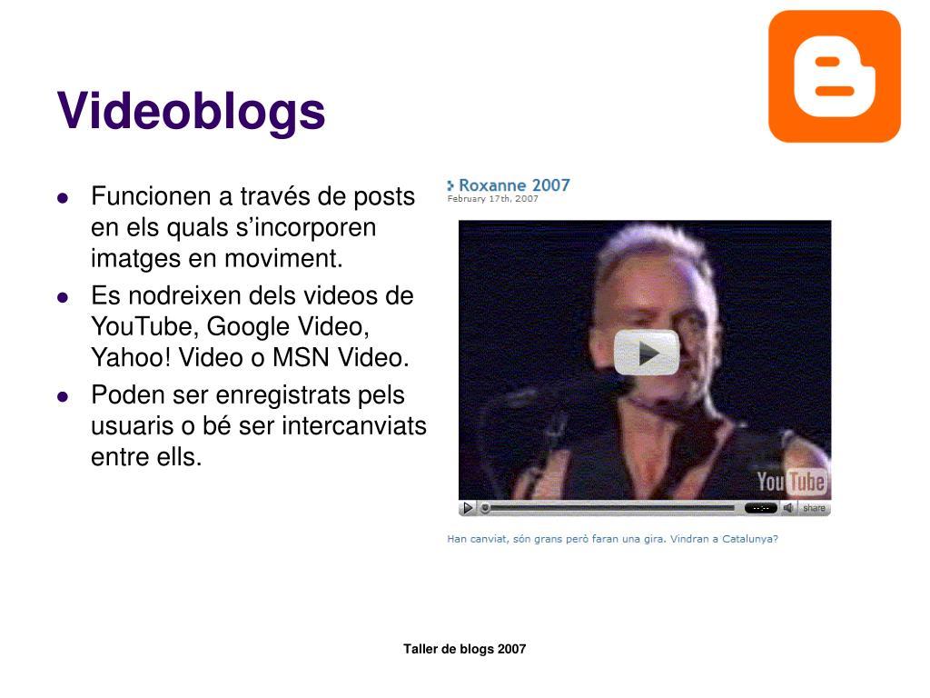 Videoblogs