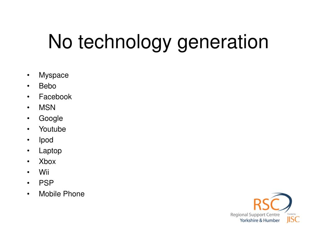 No technology generation