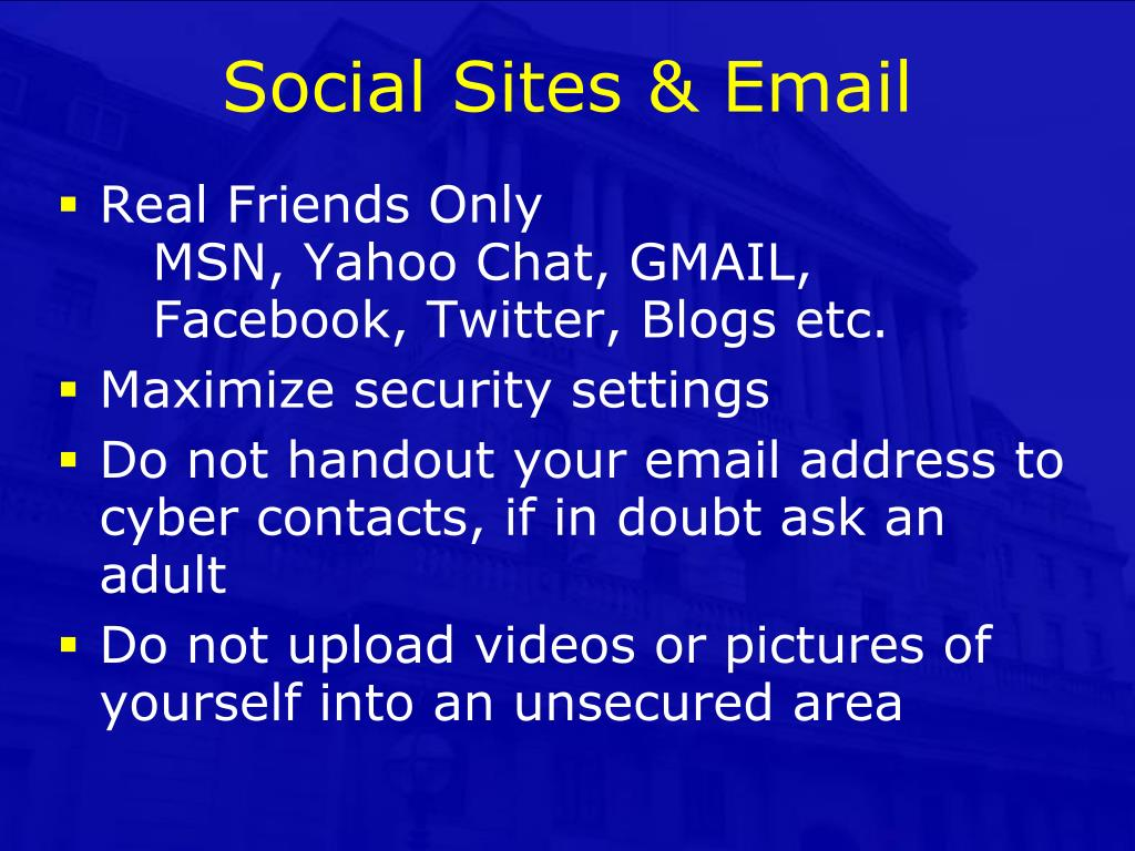 Social Sites & Email