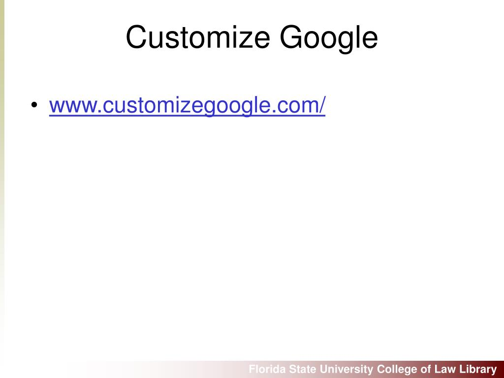 www.customizegoogle.com/