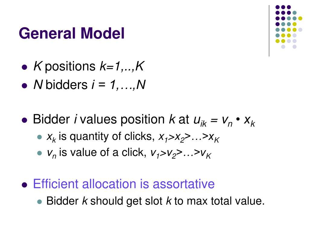 General Model
