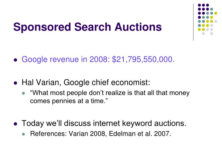 Sponsored search auctions l.jpg
