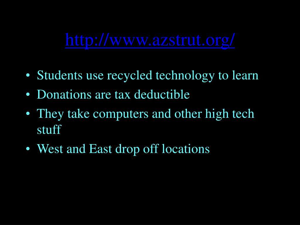 http://www.azstrut.org/