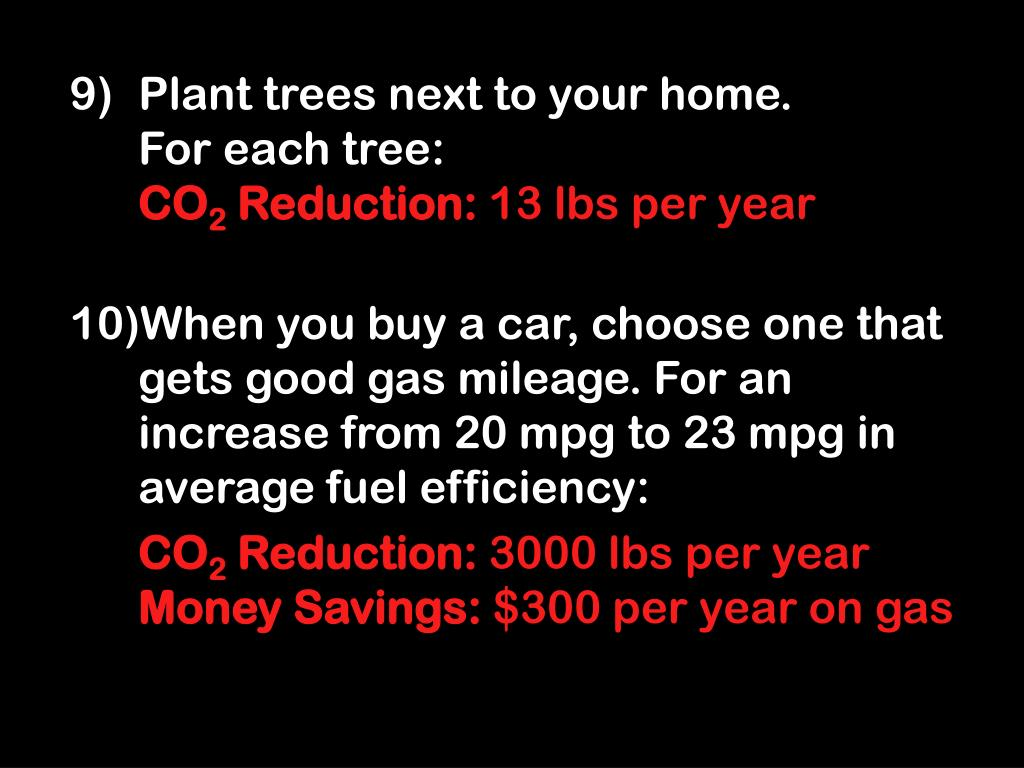 Plant trees next to your home.