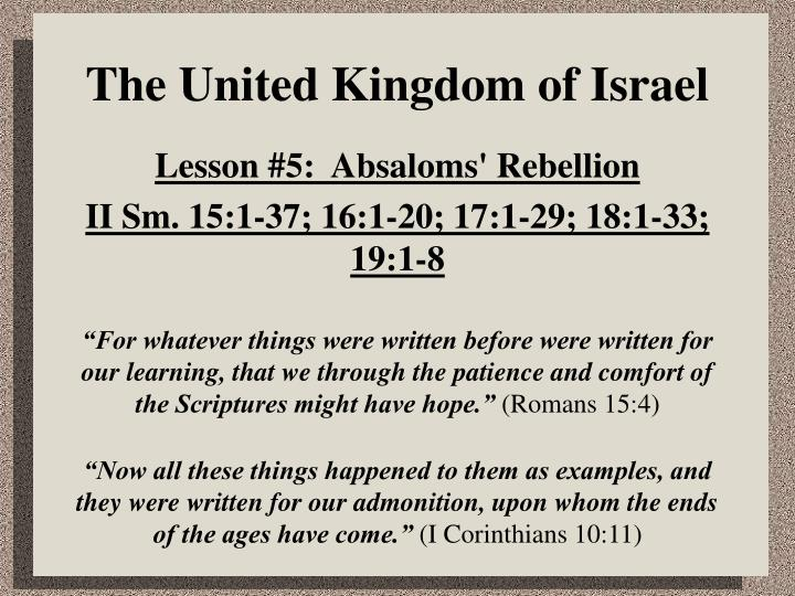 The united kingdom of israel l.jpg