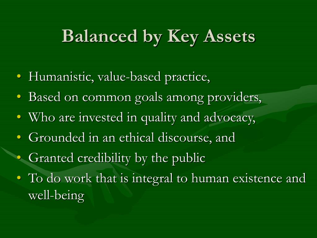 Balanced by Key Assets