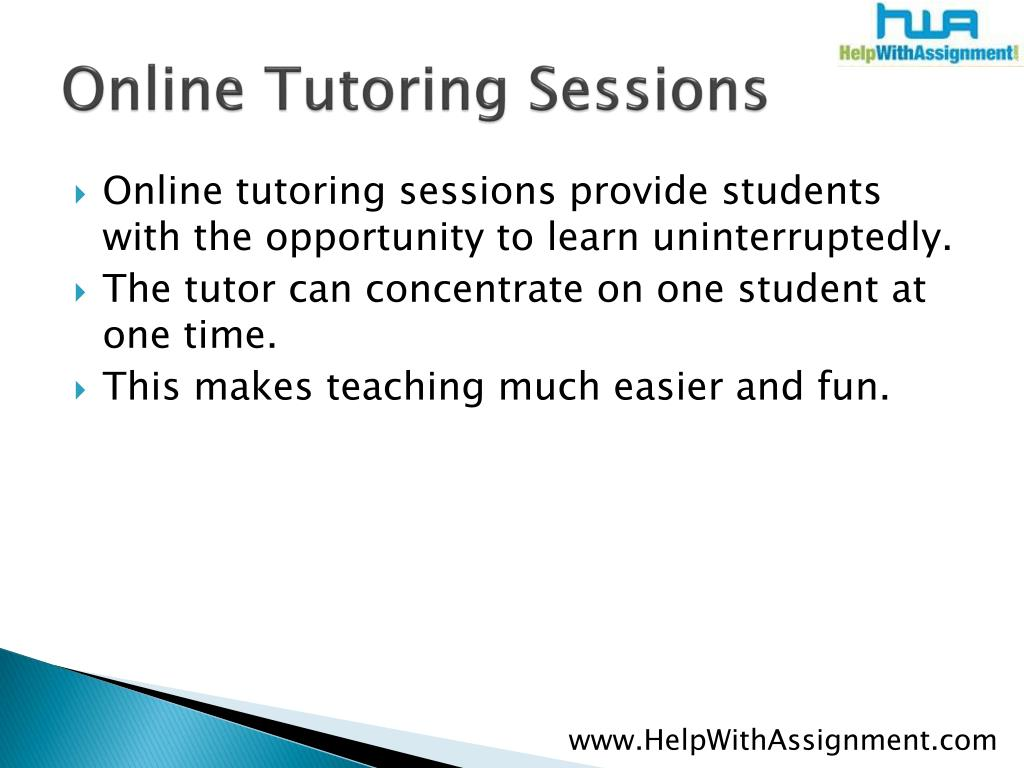 Online Tutoring Sessions