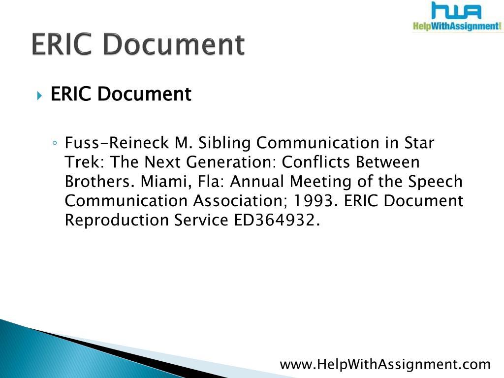 ERIC Document