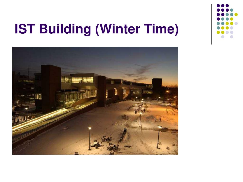 IST Building (Winter Time)