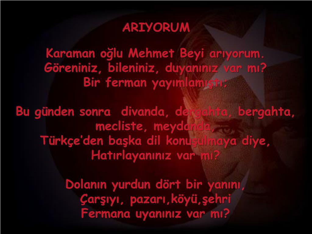 ARIYORUM