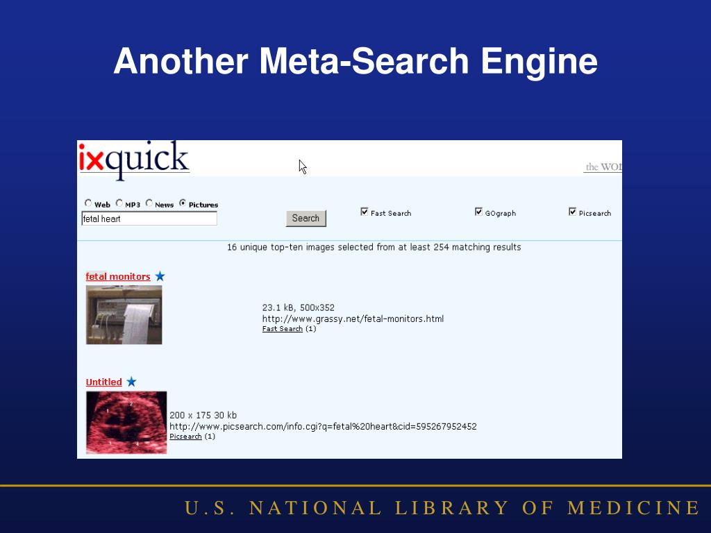 Another Meta-Search Engine