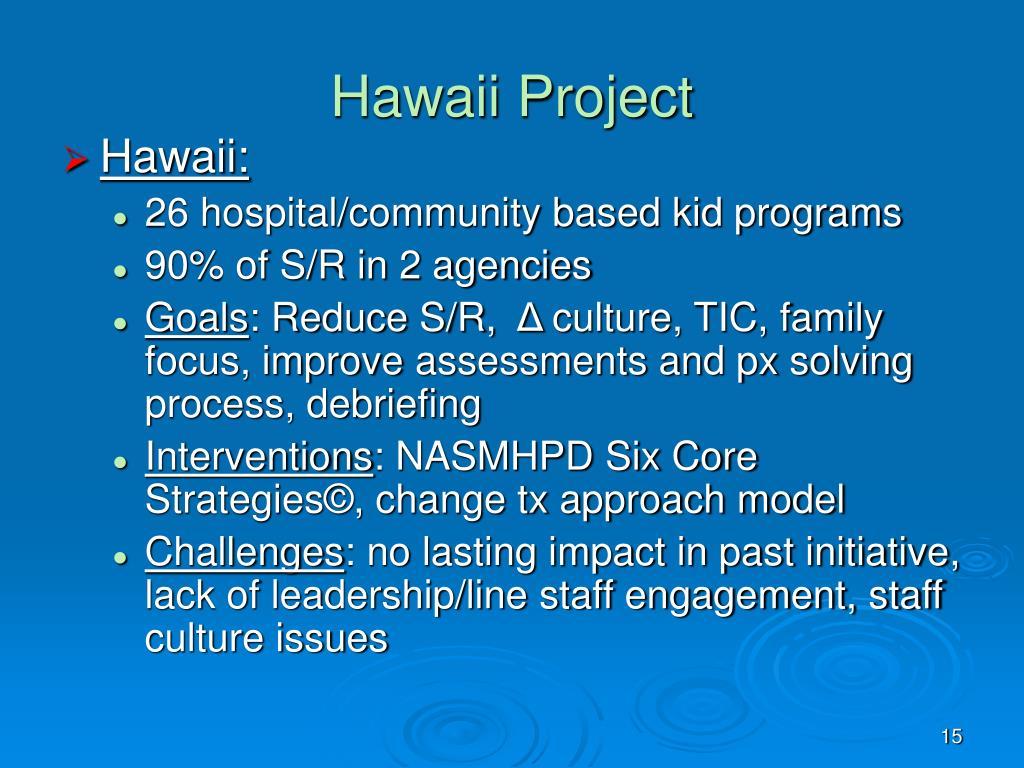 Hawaii Project
