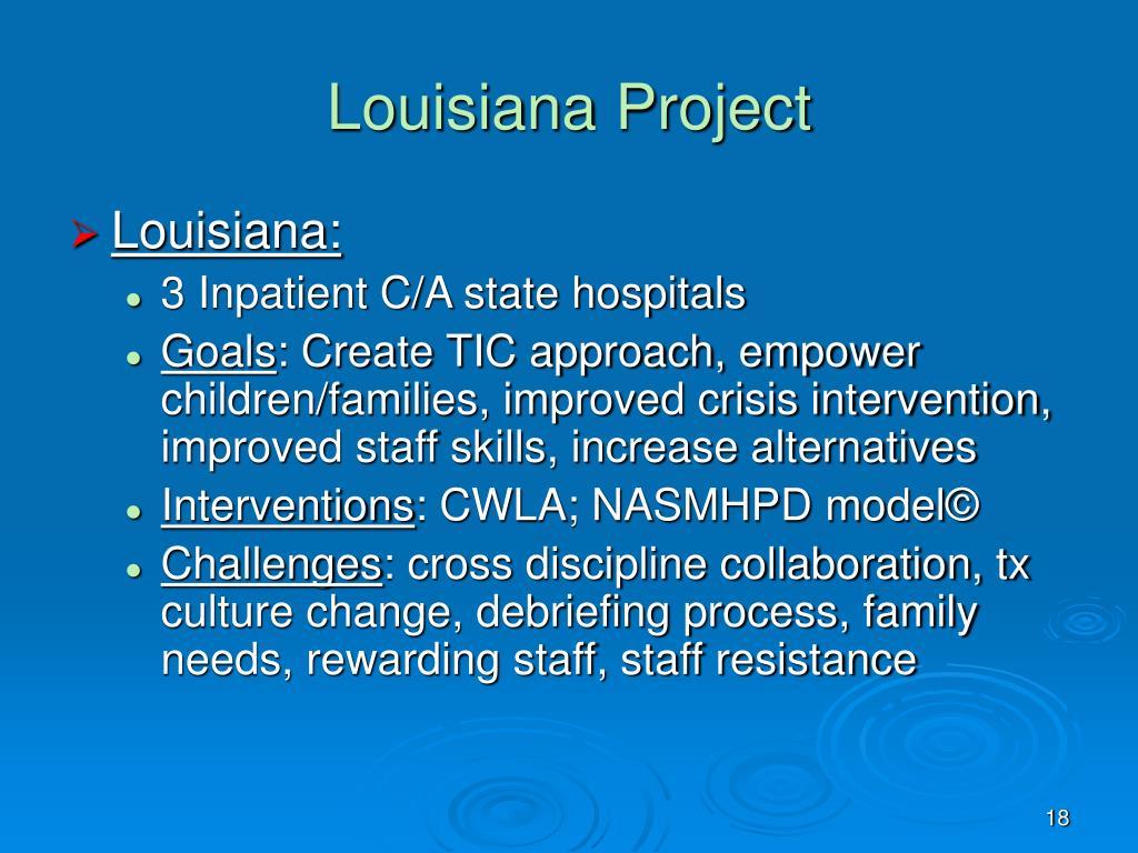 Louisiana Project
