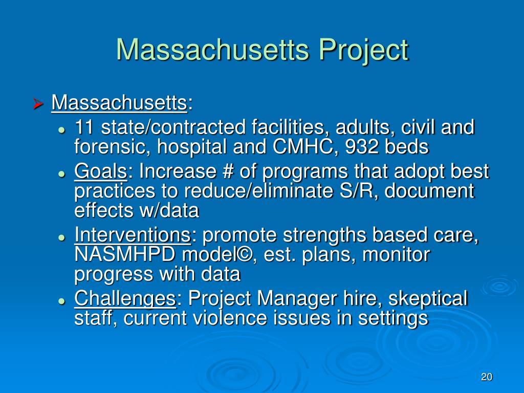 Massachusetts Project
