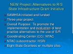new project alternatives to r s state infrastructure grant initiative