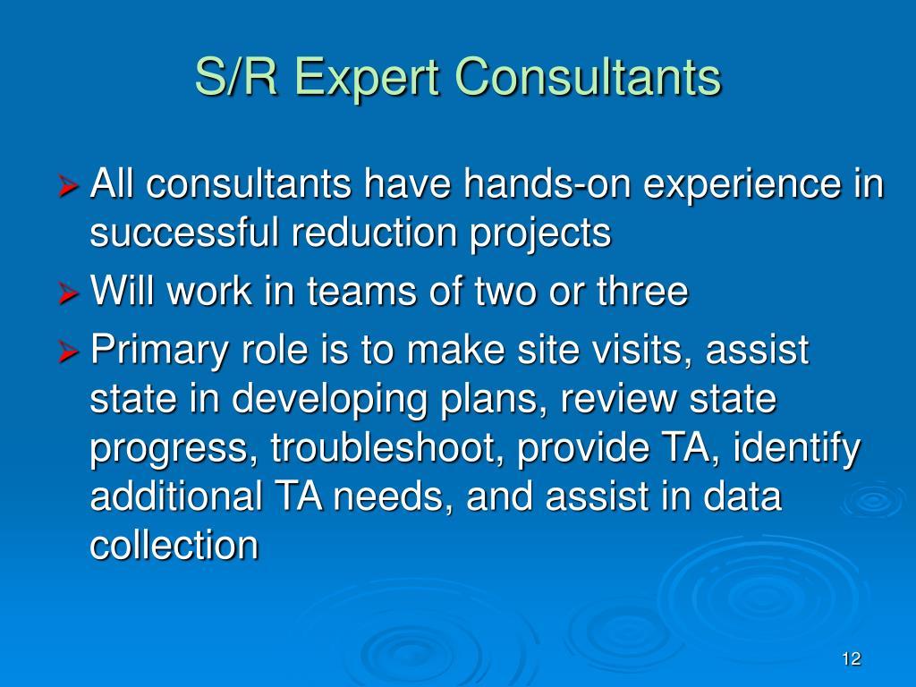 S/R Expert Consultants