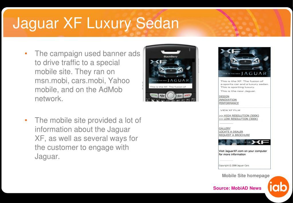 Jaguar XF Luxury Sedan