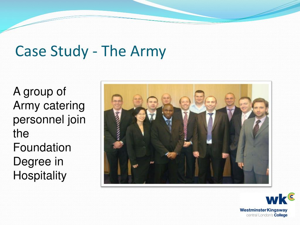 Case Study - The Army