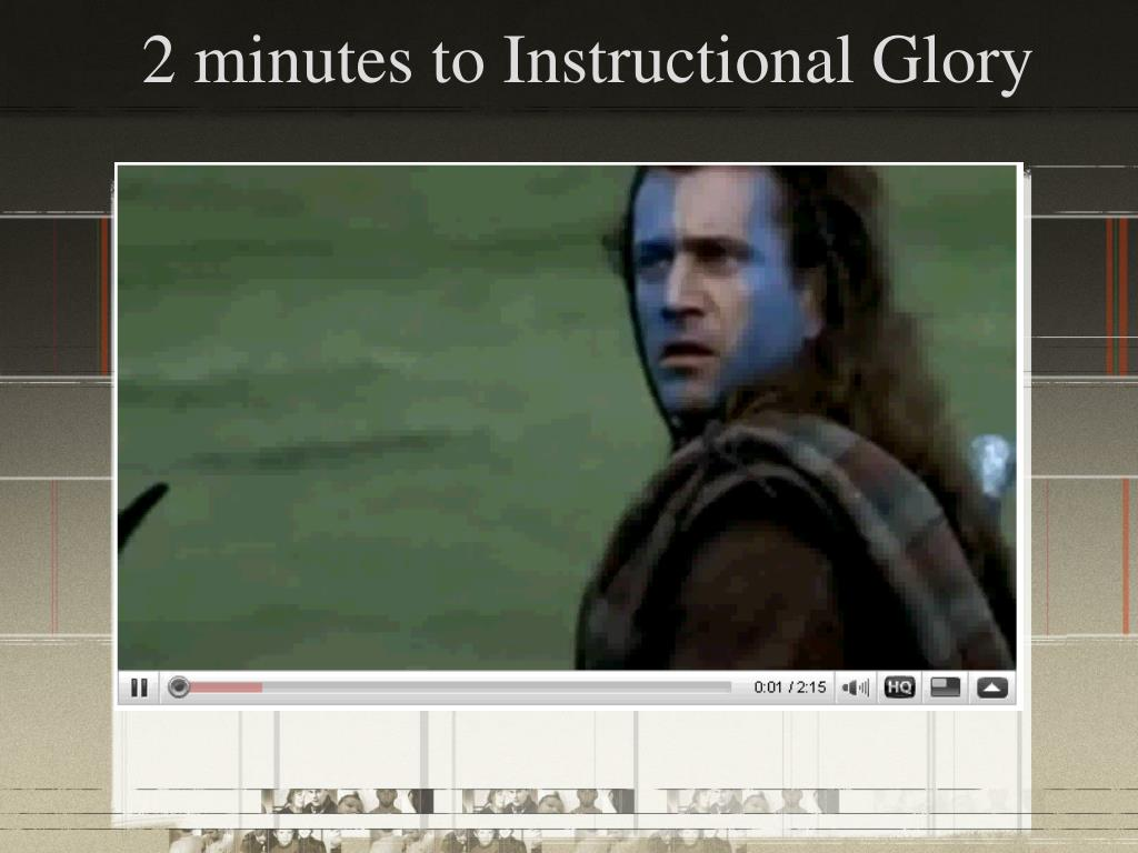 2 minutes to Instructional Glory