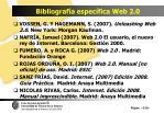 bibliograf a espec fica web 2 0